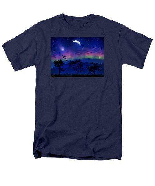 Men's T-Shirt  (Regular Fit) featuring the photograph Neverending Nights by Bernd Hau