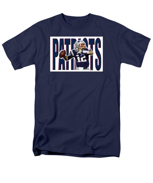 New England Patriots Men's T-Shirt  (Regular Fit) by Stephen Younts