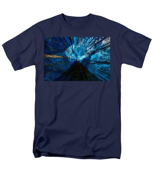 Men's T-Shirt  (Regular Fit) featuring the painting Night Angel by David Lee Thompson