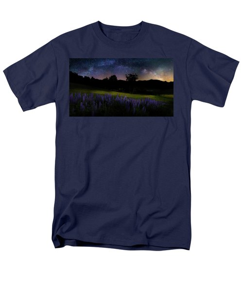 Men's T-Shirt  (Regular Fit) featuring the photograph Night Flowers by Bill Wakeley