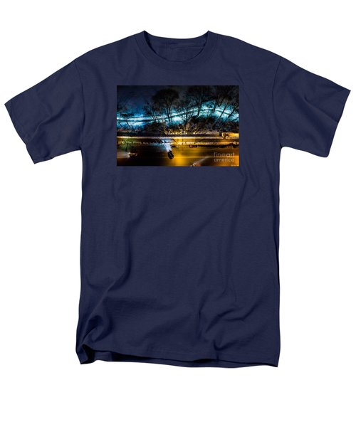 Men's T-Shirt  (Regular Fit) featuring the photograph Central Park by M G Whittingham