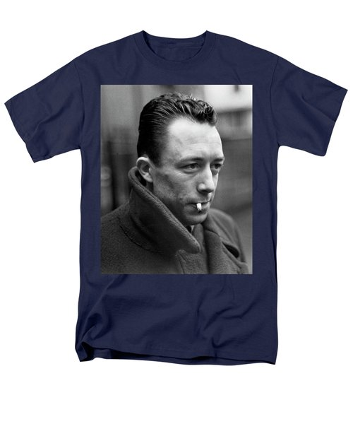 Nobel Prize Winning Writer Albert Camus Unknown Date #1 -2015 Men's T-Shirt  (Regular Fit) by David Lee Guss