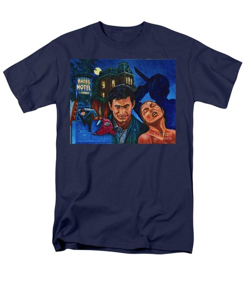 Men's T-Shirt  (Regular Fit) featuring the painting Norman by Michael Frank