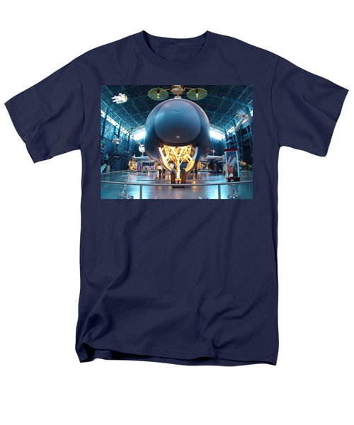 Men's T-Shirt  (Regular Fit) featuring the photograph Nose Down - Enterprise by Charles Kraus