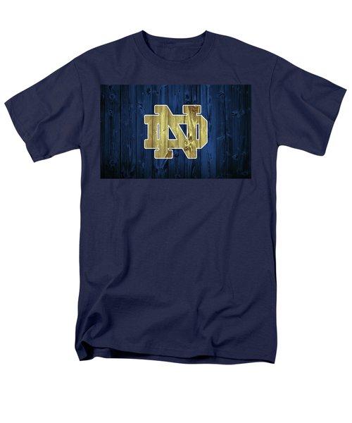 Notre Dame Barn Door Men's T-Shirt  (Regular Fit) by Dan Sproul