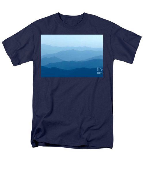 Ocean Waves Men's T-Shirt  (Regular Fit) by Anthony Fishburne