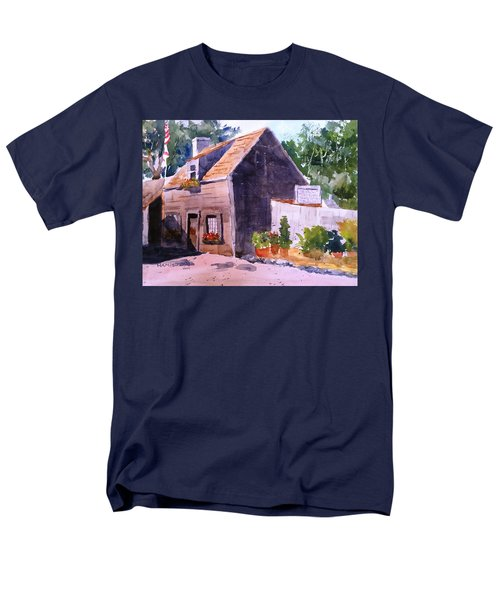 Old Wooden School House Men's T-Shirt  (Regular Fit) by Larry Hamilton