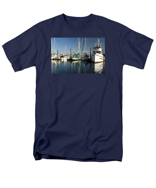 Olympia Marina Men's T-Shirt  (Regular Fit) by Chuck Flewelling