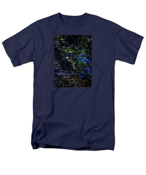Men's T-Shirt  (Regular Fit) featuring the digital art On A Cold Winter Night by Mimulux patricia no No