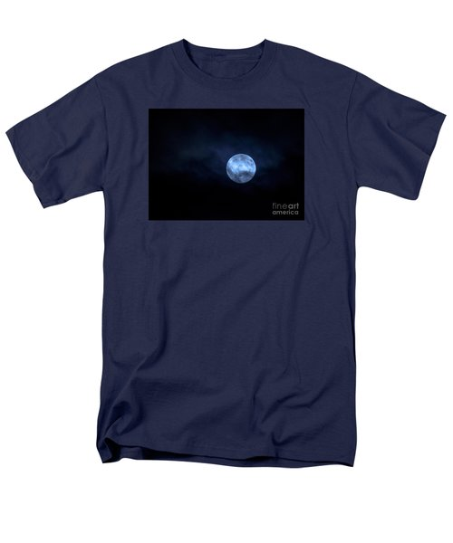 Once In A Blue Moon Men's T-Shirt  (Regular Fit) by Sandy Molinaro
