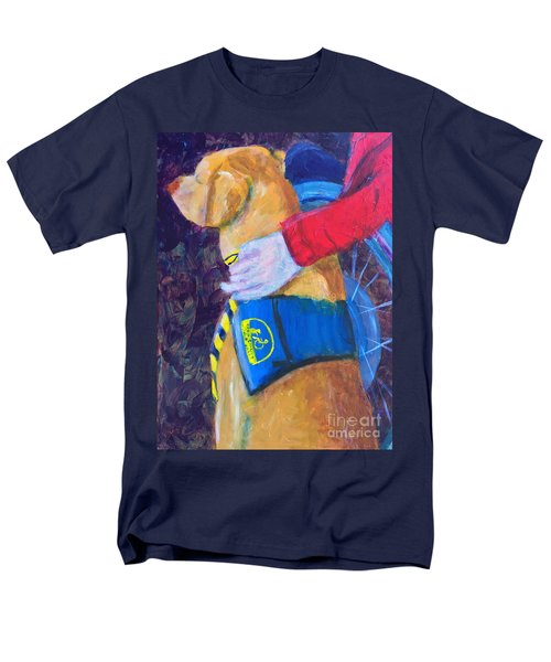 Men's T-Shirt  (Regular Fit) featuring the painting One Team Two Heroes 3 by Donald J Ryker III