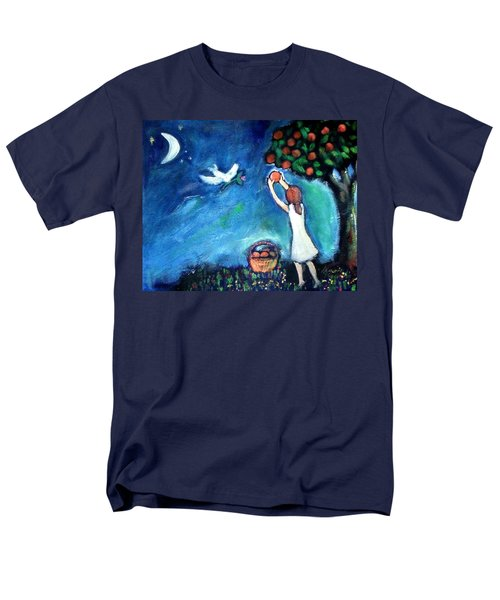 Men's T-Shirt  (Regular Fit) featuring the painting Oranges Song by Winsome Gunning