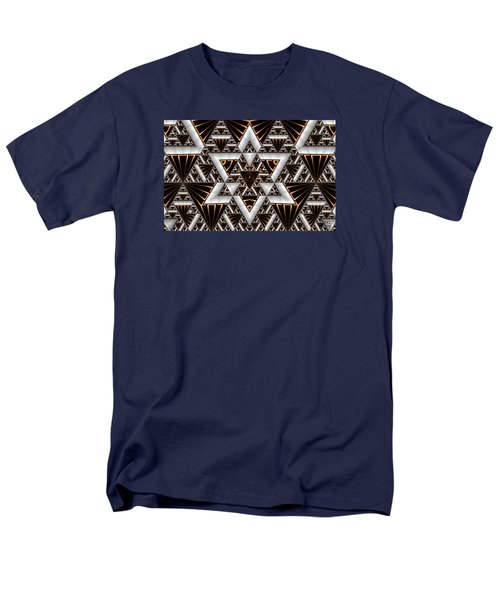 Men's T-Shirt  (Regular Fit) featuring the digital art Order And Chaos by Manny Lorenzo