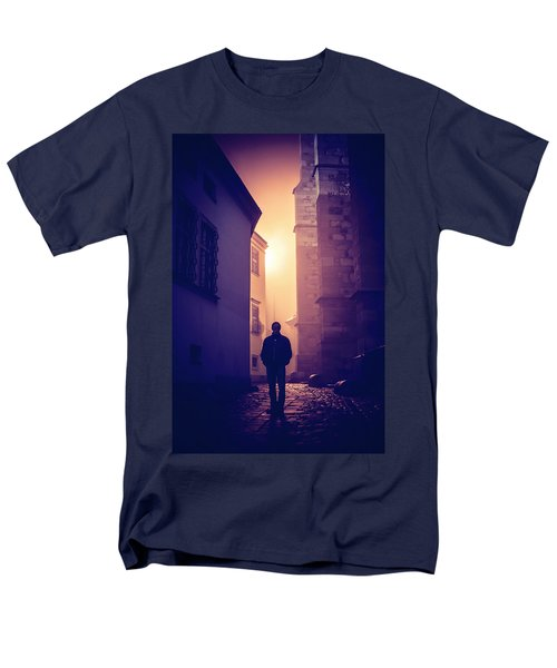 Men's T-Shirt  (Regular Fit) featuring the photograph Out Of Time by Jenny Rainbow