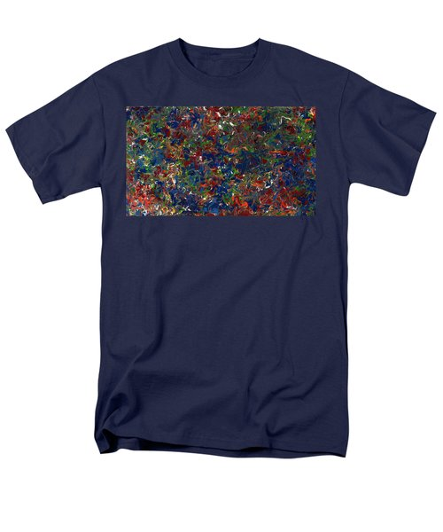 Paint Number 1 Men's T-Shirt  (Regular Fit) by James W Johnson