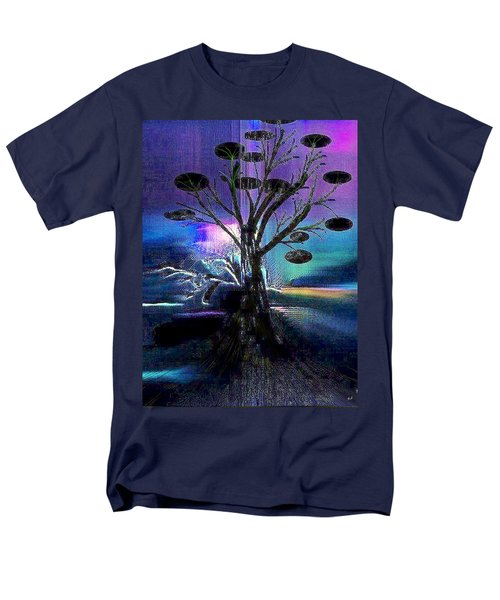 Pale Moonlight Men's T-Shirt  (Regular Fit) by Yul Olaivar