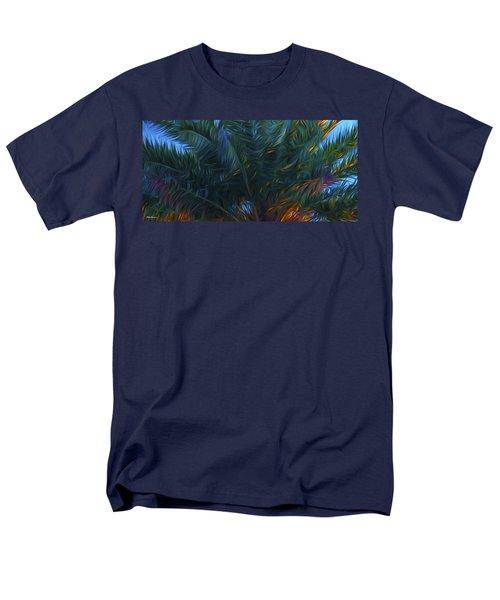 Palm Tree In The Sun Men's T-Shirt  (Regular Fit) by Glenn Gemmell