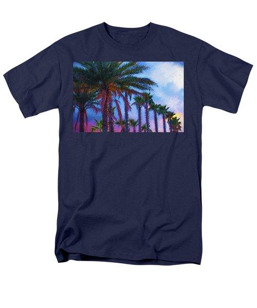 Palm Trees 3 Men's T-Shirt  (Regular Fit) by Glenn Gemmell