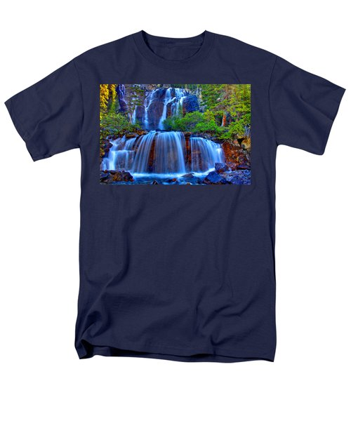 Paradise Falls Men's T-Shirt  (Regular Fit) by Scott Mahon