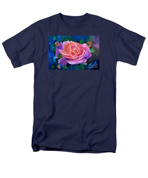 Gala Rose Men's T-Shirt  (Regular Fit) by Jenny Lee