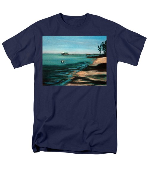 Men's T-Shirt  (Regular Fit) featuring the painting Passing By Again by Suzanne McKee
