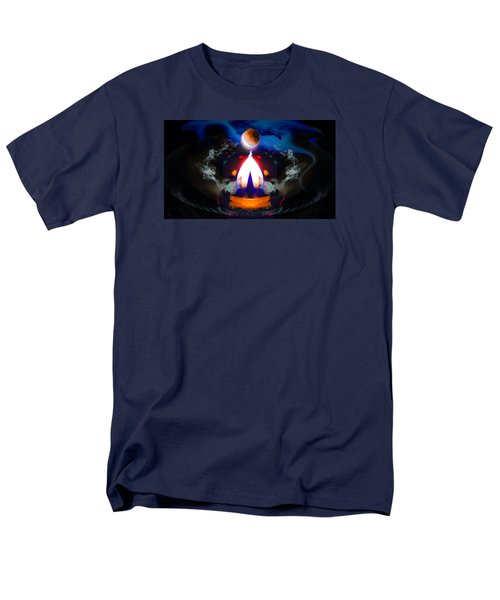 Men's T-Shirt  (Regular Fit) featuring the photograph Passion Eclipsed by Glenn Feron