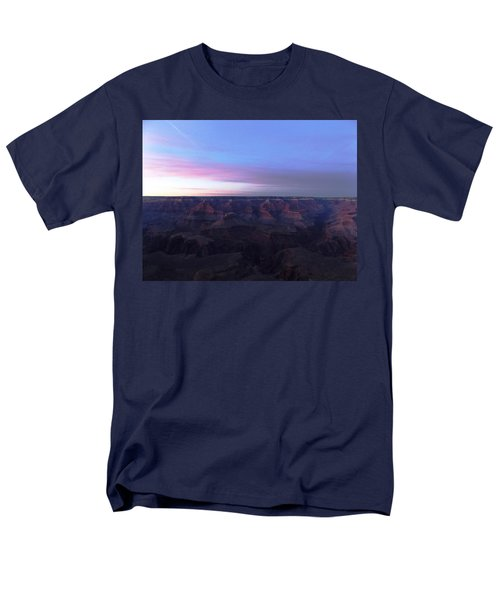 Pastel Sunset Over Grand Canyon Men's T-Shirt  (Regular Fit) by Adam Cornelison