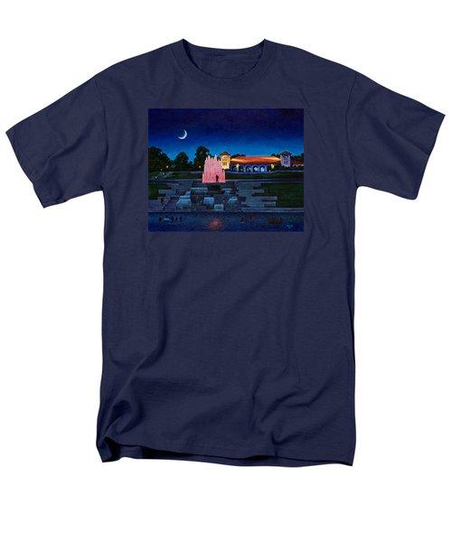 Pavilion Fountains Men's T-Shirt  (Regular Fit) by Michael Frank