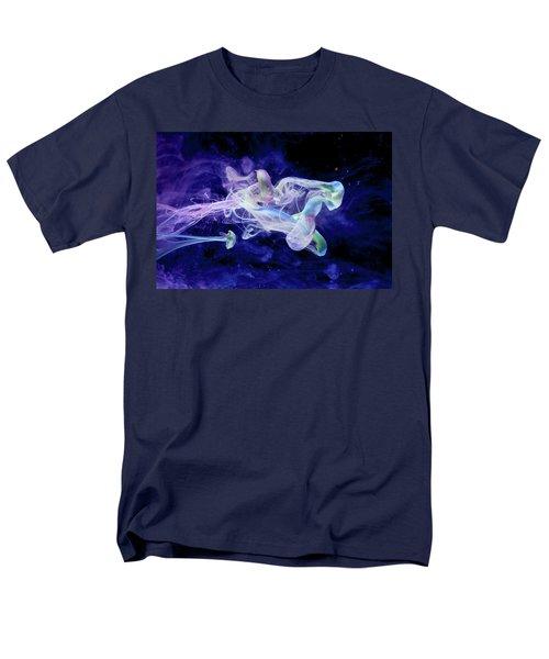 Peaceful Flow - Fine Art Photography - Paint Pouring Men's T-Shirt  (Regular Fit) by Modern Art Prints