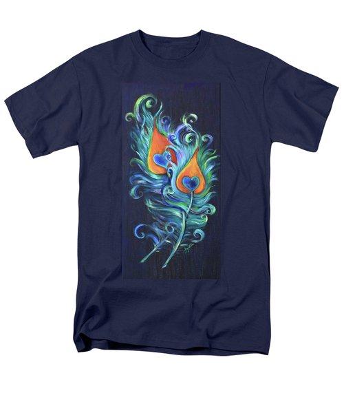 Peacock Feathers Men's T-Shirt  (Regular Fit)