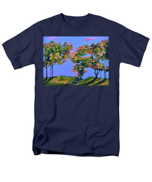 Periwinkle Twilight Men's T-Shirt  (Regular Fit) by Donna Blackhall