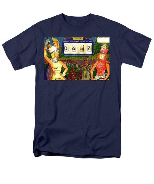Men's T-Shirt  (Regular Fit) featuring the photograph Pinball Art - Majorettes by Colleen Kammerer