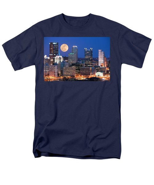 Pittsburgh 6 Men's T-Shirt  (Regular Fit) by Emmanuel Panagiotakis