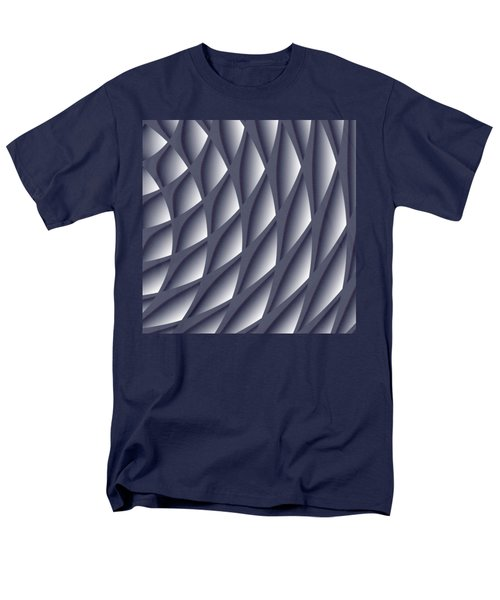 Points Abstract Colour Choice Men's T-Shirt  (Regular Fit) by Barbara Moignard