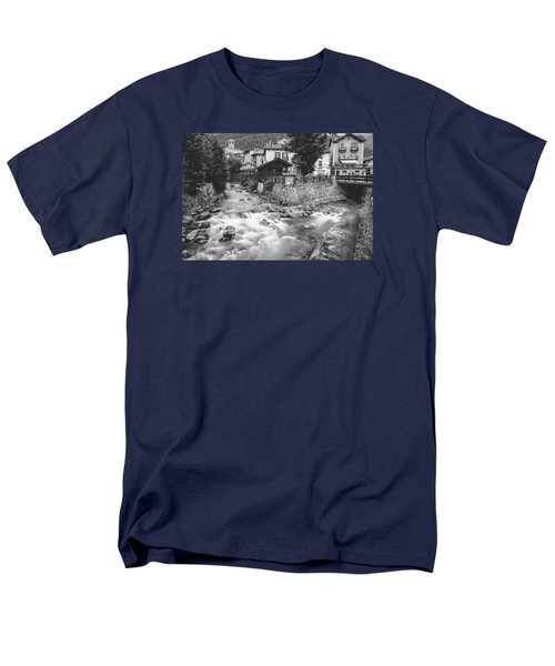 Ponte Di Legno  Men's T-Shirt  (Regular Fit) by Cesare Bargiggia