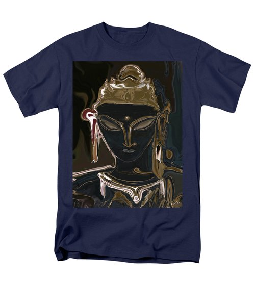 Men's T-Shirt  (Regular Fit) featuring the digital art Portrait Of Vajrasattva by Rabi Khan