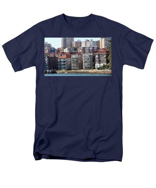 Men's T-Shirt  (Regular Fit) featuring the photograph Posh Burbs by Stephen Mitchell