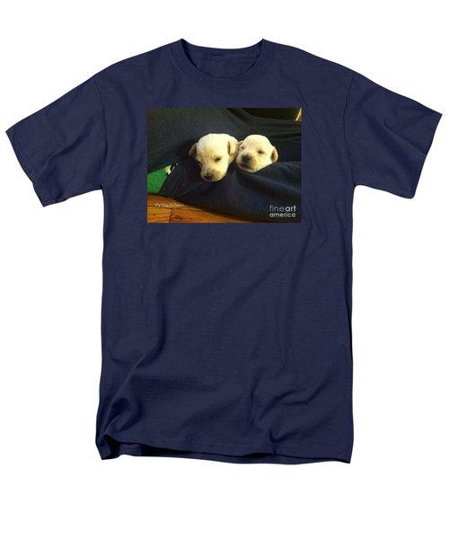 Puppy Love Men's T-Shirt  (Regular Fit) by MaryLee Parker