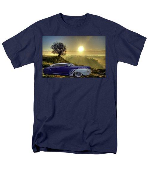 Purple Beauty Men's T-Shirt  (Regular Fit) by Julie Grace