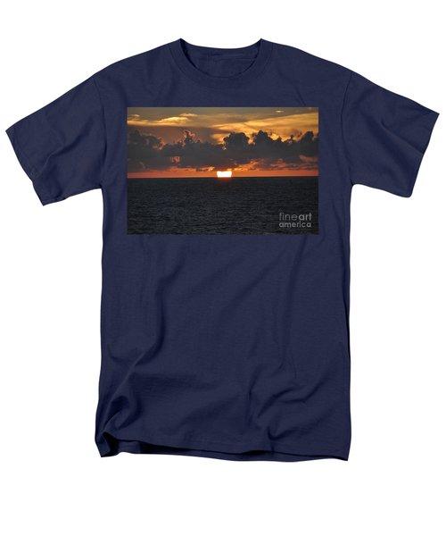 Purple Sunset Men's T-Shirt  (Regular Fit) by John Black