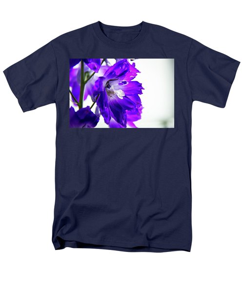 Purpled Men's T-Shirt  (Regular Fit) by David Sutton