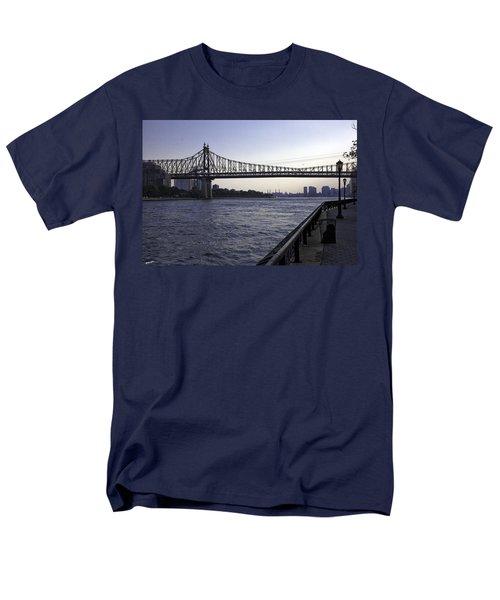 Queensboro Bridge - Manhattan Men's T-Shirt  (Regular Fit) by Madeline Ellis