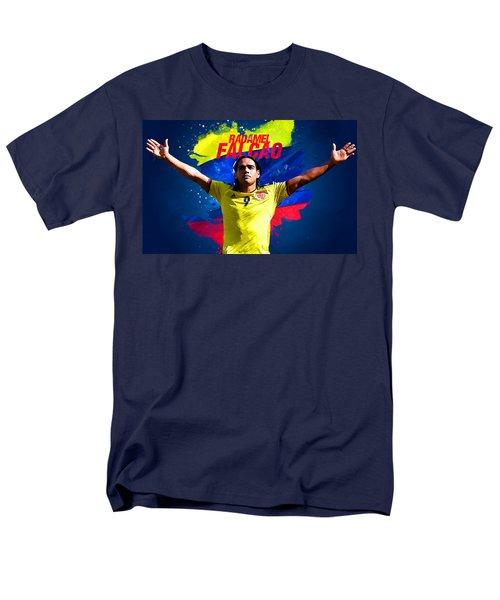 Radamel Falcao Men's T-Shirt  (Regular Fit) by Semih Yurdabak