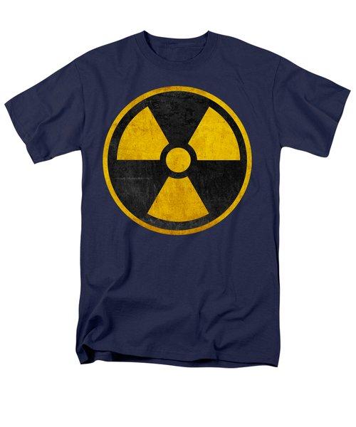 Vintage Distressed Nuclear War Fallout Shelter Sign Men's T-Shirt  (Regular Fit)