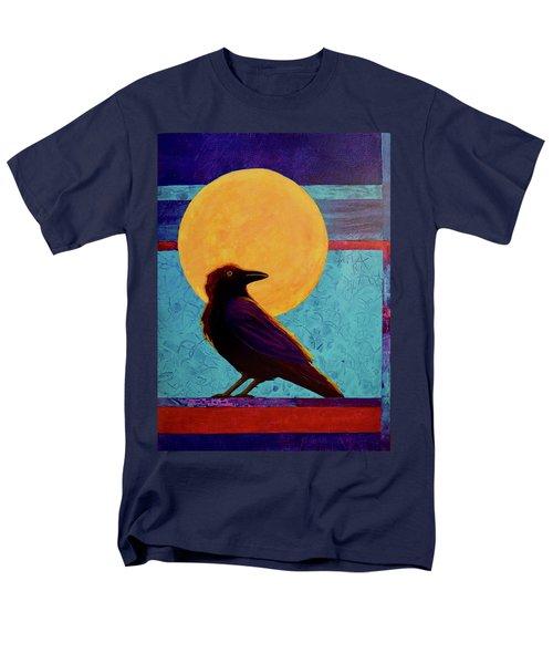 Raven Moon Men's T-Shirt  (Regular Fit) by Nancy Jolley