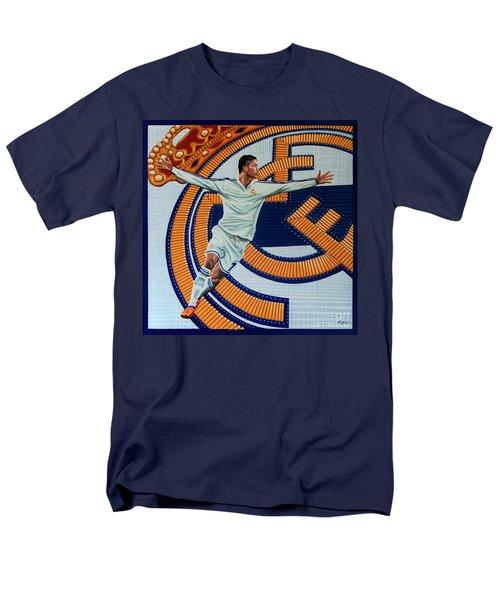 Real Madrid Painting Men's T-Shirt  (Regular Fit) by Paul Meijering