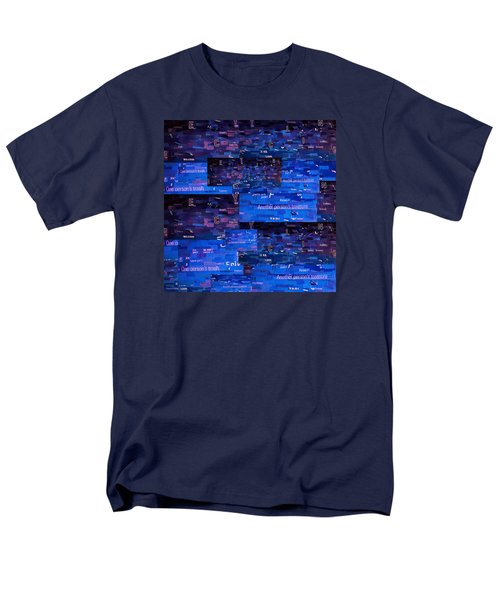 Men's T-Shirt  (Regular Fit) featuring the digital art Recycling by Shawna Rowe