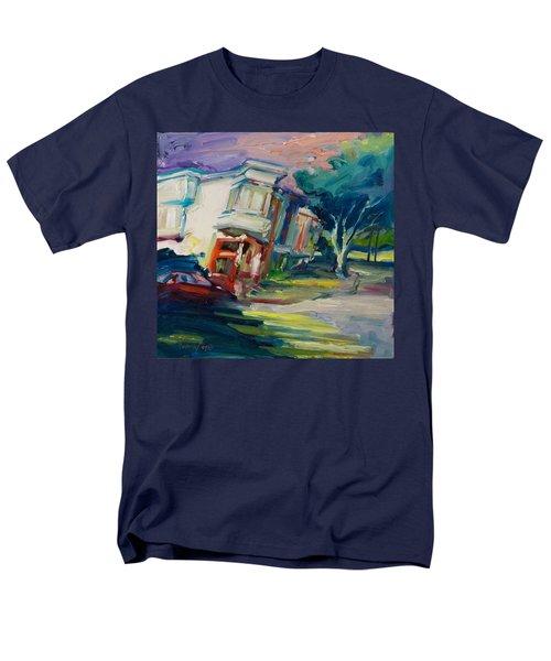 Red Cafe Men's T-Shirt  (Regular Fit) by Rick Nederlof