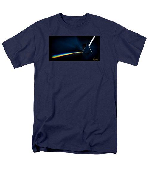 Refraction  Men's T-Shirt  (Regular Fit) by Rikk Flohr