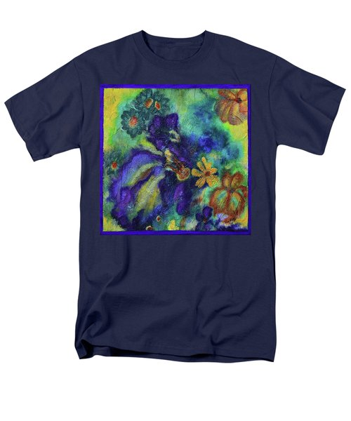 Remember The Flowers Men's T-Shirt  (Regular Fit) by Donna Blackhall